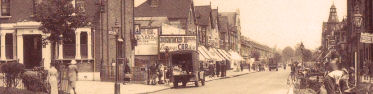 Brownhill Road from Rushey Green, showing the Lewisham Hippodrome on the right, c. 1931